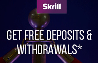 skrill banner - get free deposits and withdrawals