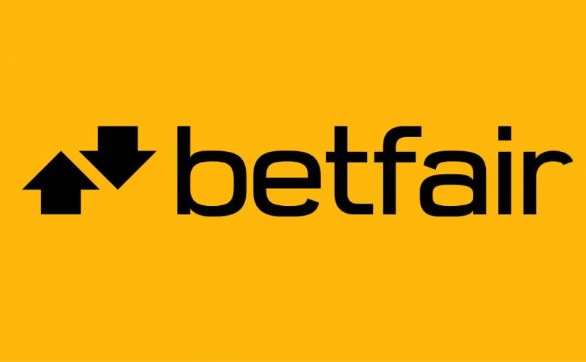 Betfair bonus bet banner, yellow background, black text