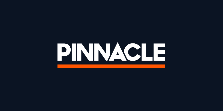 Big Pinnacle text banner in blue